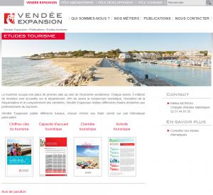 Vendée expansion études tourisme