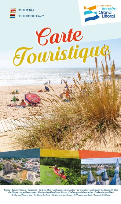 Carte touristique 2018 de la Destination Vendée Grand Littoral