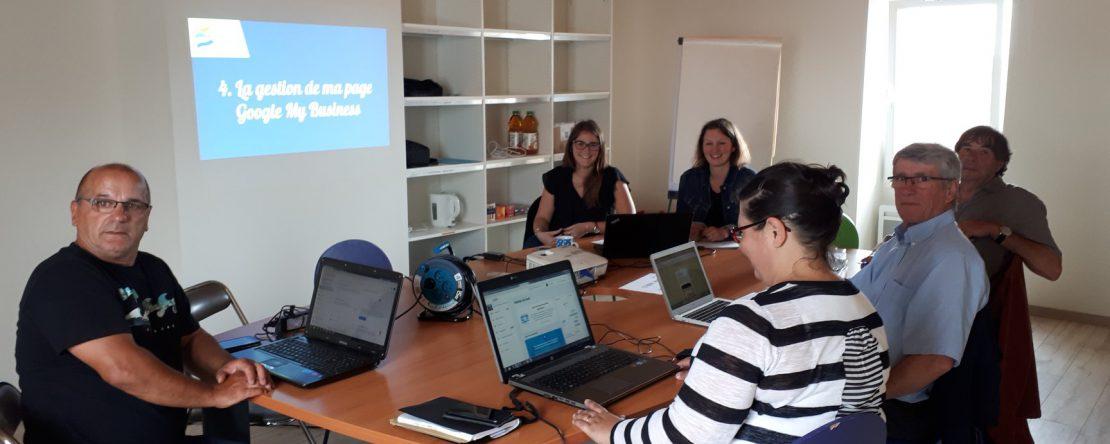 Ateliers Google My Business avec Aurélie Belaz