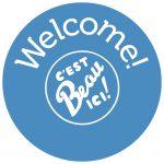 Welcome ! C'est beau ici !