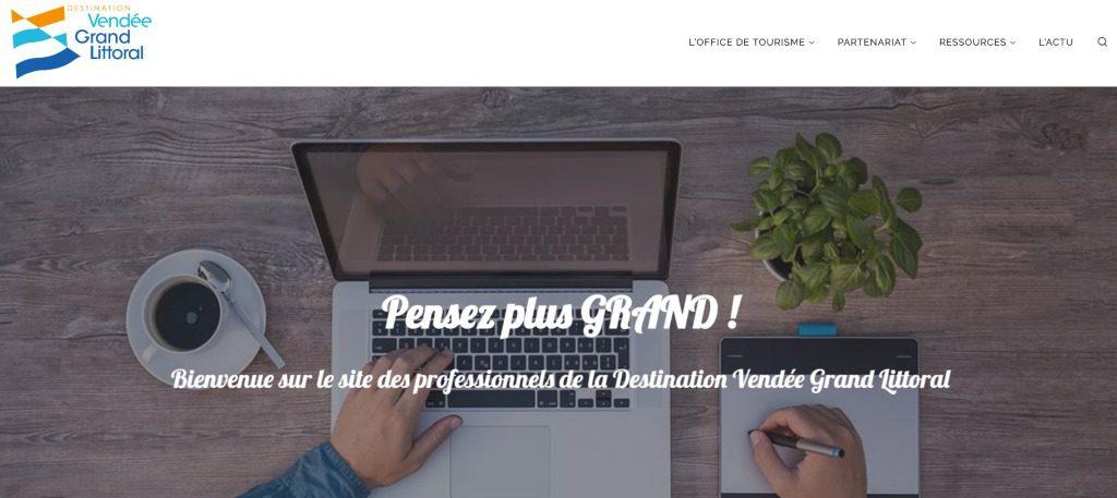 Site pro Vendée Grand Littoral accueil
