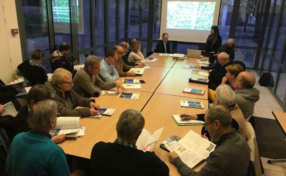 Réunion Fiscalité animée par Charles Lecointe d'Accueillir Magazine pour l'Office de Tourisme Destination Vendée Grand Littoral