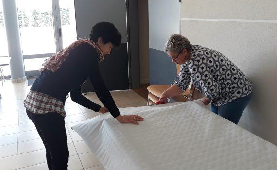 Grand Echange 2019 : préparation des tables