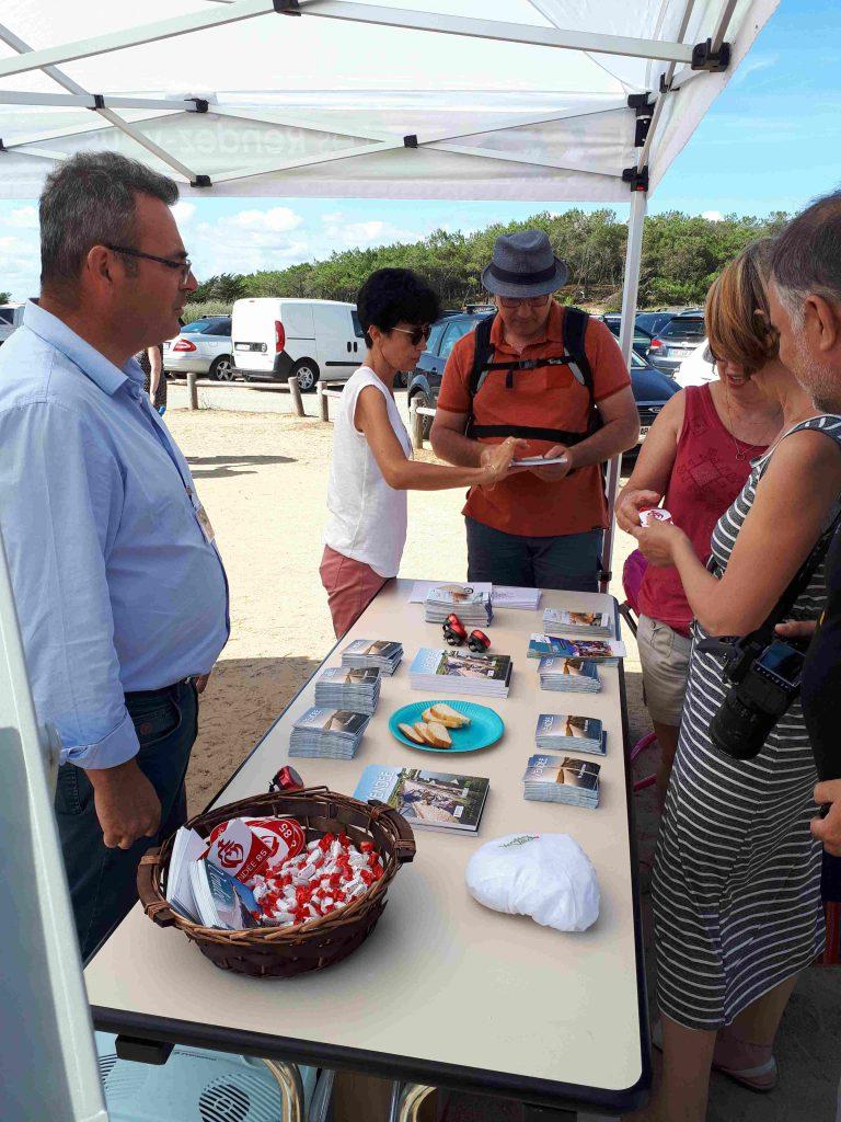 Rendez-vous de la Vendée à Vélo 2019 à Longeville sur Mer