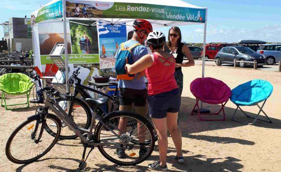 Rendez-vous de la Vendée Vélo 2019 à Longeville sur Mer