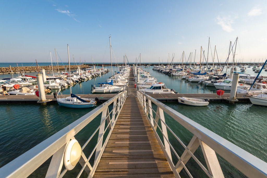 Photo du port de Jard-sur-Mer - Portrait équipe - Marie Prouteau