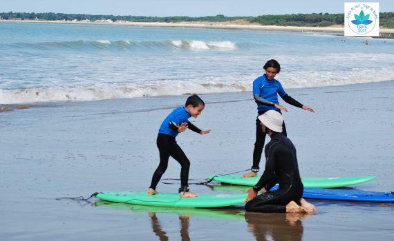 Esprit Surf Longeville-sur-Mer Surf élèves