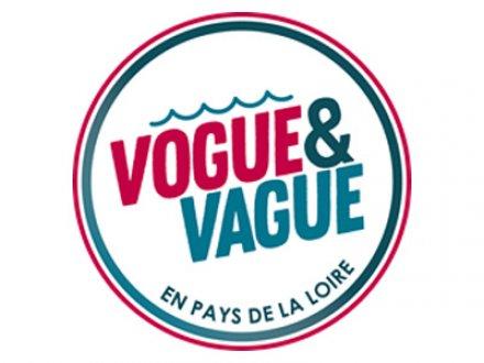 Logo label Vogue et Vague Site de la région Pays de la Loire