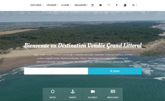 Site internet de destination